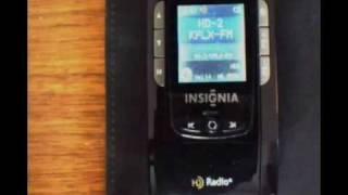 Insignia NS-HD01 FM Portable HD Radio