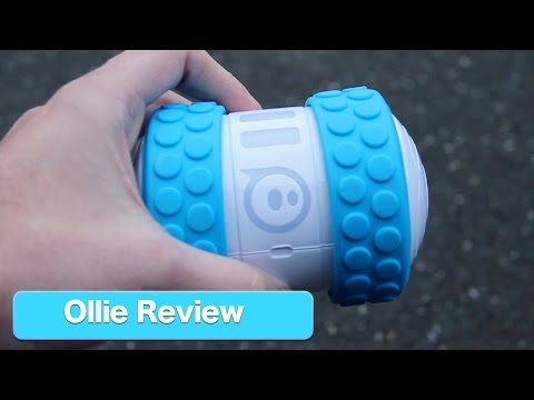 Ollie App Controlled Robot by Sphero.  Review of Connected Toy by Orbotix
