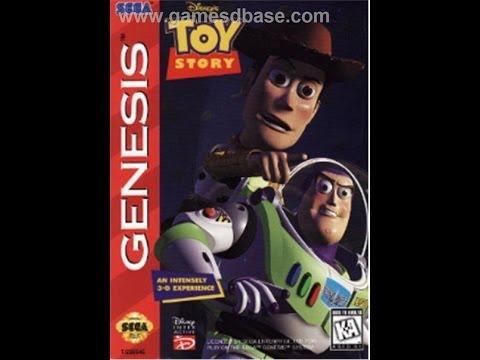Toy Story Прохождение (Sega Rus)