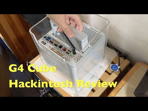 Inside My G4 Cube i7 Hackintosh - A Little Review - TheDIYGuy999