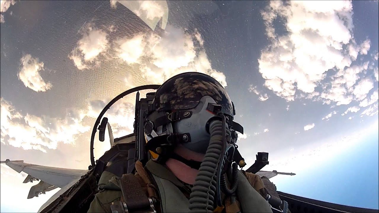 Holy Moly, Check Out This Awesome F-18 Cockpit Video