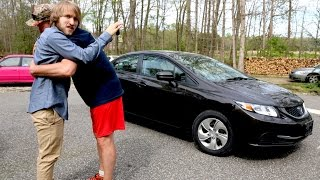 PSYCHO DAD BUYS MCJUGGERNUGGETS A NEW CAR!