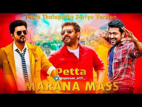 Download Marana Mass Song Thala Thalapathy Suriya Version  - Thujeevan HD Mp4 HD Video and MP3