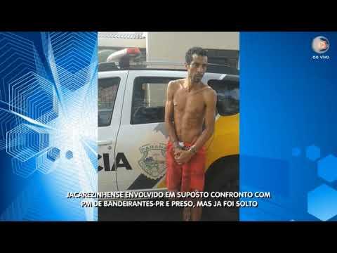 Suposto envolvido em Confronto com a PM em Bandeirantes-PR é preso