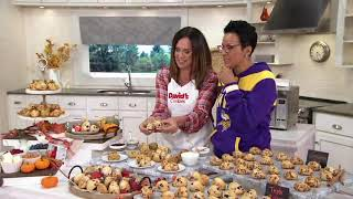 Davids Cookies 48-pc Ready To Bake Petite Fall Scones On QVC