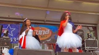 Las Baby Girlz En Vivo Dominican Festival 2018 Hosted By Latina FM 92.1 - Allentown, PA