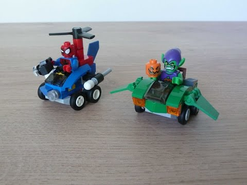 Vidéo LEGO Marvel 76064 : Spider-Man contre le Bouffon Vert