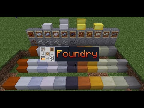 Minecraft Mod Review: Foundry (Compact and Precise Metallurgy!)