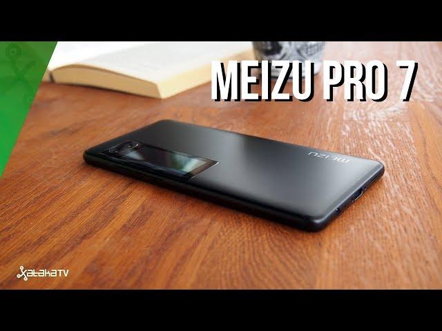 Meizu Pro 7, análisis