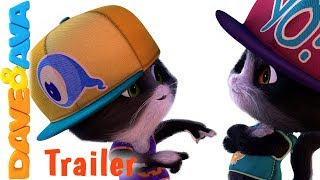 🎃  Five Little Kittens - Trailer | Halloween Nursery Rhymes from Dave and Ava 🎃
