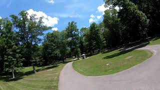 One pack at the park. FPV freestyle in the heat