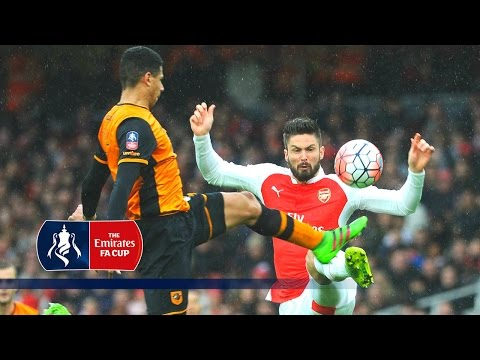 Arsenal 0-0 Hull - Emirates FA Cup 2015/16 (R5) | Goals & Highlights