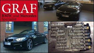 Automatikgetriebe spülen oder Ölwechsel Getriebe BMW 3er F30 4er