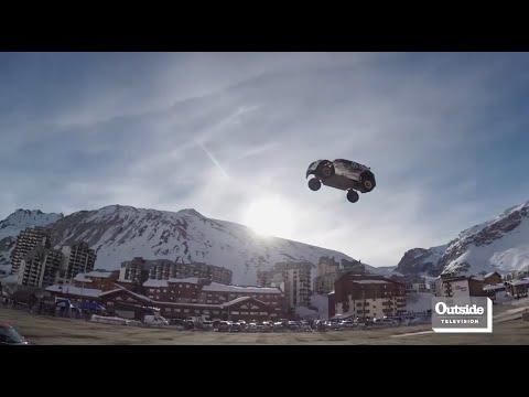 Car Jump Goes Horribly Wrong