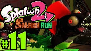 Splatoon 2 ~ Salmon Run - Roller Rush - Profreshional - Nintendo Switch Gameplay Walkthrough PART 11