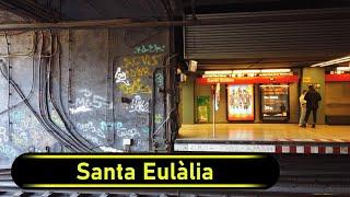 Metro Station Santa Eulàlia - Barcelona - Walkthrough 🚶