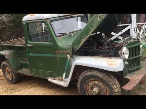1956 Willis jeep Barn fine