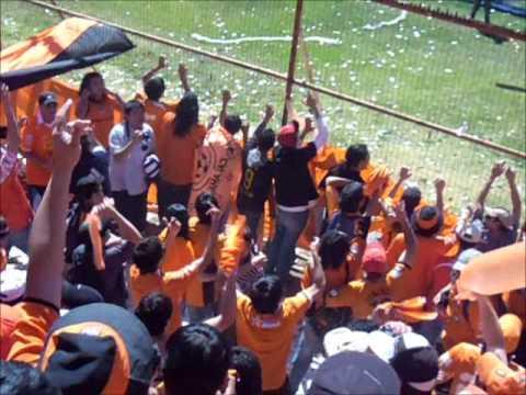 """""""Cobreloa es un sentimiento.wmv"""" Barra: Huracan Naranja • Club: Cobreloa"""