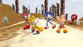 [MMD] (SONIC) Poker Face ポーカーフェース A dedication to my friends!