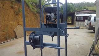 Perfuratriz #01 Maquina De Furar Poços Semi-artesiano