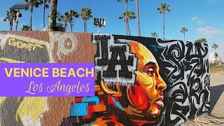 VENICE BEACH LOS ANGELES CA | VLOG | WALK TOUR | Things to do & see |Tourist Attraction| CRAZY BEACH