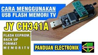 ch341a 24 25 series eeprom flash bios usb programmer - TH-Clip