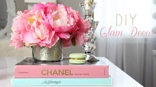 DIY Room Decorations For A Girly Office, Makeup Room, Vanity  - MissLizHeart