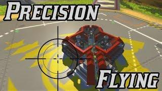 PRECISION FLYING: Scrap Mechanic Creation Showcase Ep7