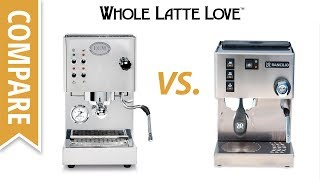 Compare: Rancilio Silvia M Vs ECM Casa V Espresso Machines