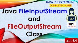 Java I/O Tutorial #2 - FileInputStream and FileOutputStream Class with Example in Hindi and English