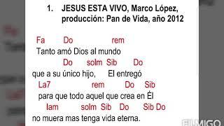 Jesús Está Vivo, Marco Lopez  Con Acordes