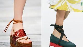 Модная женская обувь весна-лето 2015