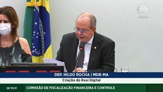 FISCALIZAÇÃO FINANCEIRA - Criação do Real Digital - 26/10/2021 17:00