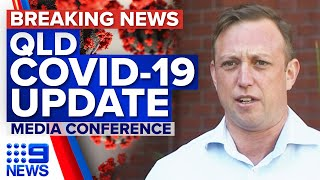COVID-19 case active in Queensland community, close contact in NSW | 9 News Australia
