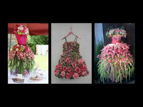 Floral Tree Dress Inspiration - Mannequin Tree Ideas - Spring Decorating Ideas