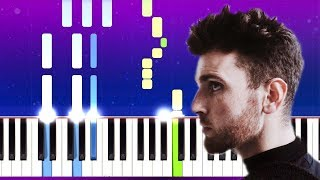 Duncan Laurence   Love Don't Hate It (Piano Tutorial)
