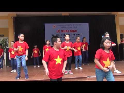 """nhạc phẩm dân gian """" Bắc Kim Thang và Bống Bống Bang Bang"""" do lớp 3D biểu diễn"""