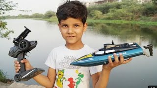 High Speed Camera RC Boat | Wifi FPV Camera RC Boat | Remote Control RC BOAT Unboxing & Testing