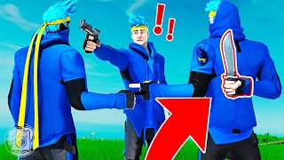 WHICH NINJA is the KILLER?! (Fortnite Murder Mystery)