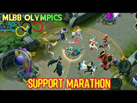 MOBILE LEGENDS OLYMPICS - MARATHON OF SUPPORTS • RUNNING WITH SKILLS