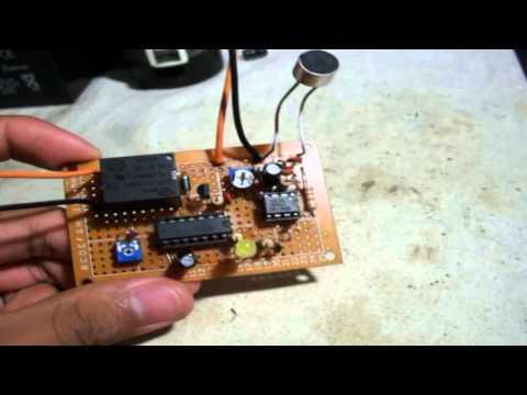 Interruptor Activado por Sonido (PROYECTO)