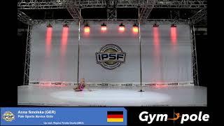 WPSC19 - Pole Sports - Novice Girls - Anna Smolska - Germany