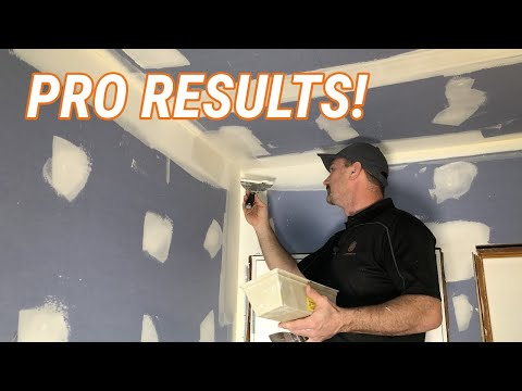 Download How To Tape & Finish Inside Drywall Corners - VIDEO