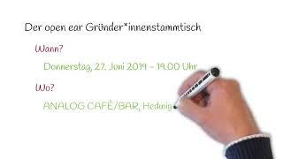 Der open ear Gründer*innenstammtisch - Runde II