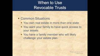 Trusts: Do I Need One?