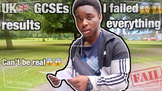OPENING MY GCSE RESULTS 2019 LIVE **i didn't go home**