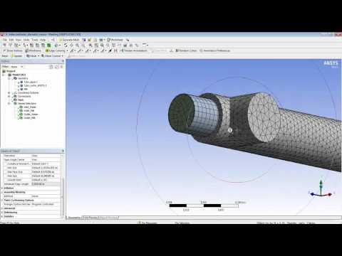 CFD: intercambiador de calor de tubos concéntricos (ANSYS)