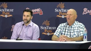 Alex Anthopoulos, Brian Snitker reflect on Braves' NLDS loss and offseason plans