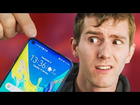 The Flashiest Phone I've EVER seen - Honor View20 Showcase