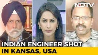 Indian Engineer Shot In Kansas: Trump
